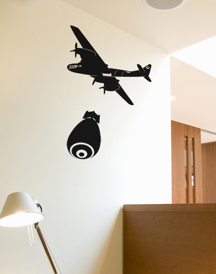 Enola gay homestickers adesivi da parete - Stickers da parete personalizzati ...