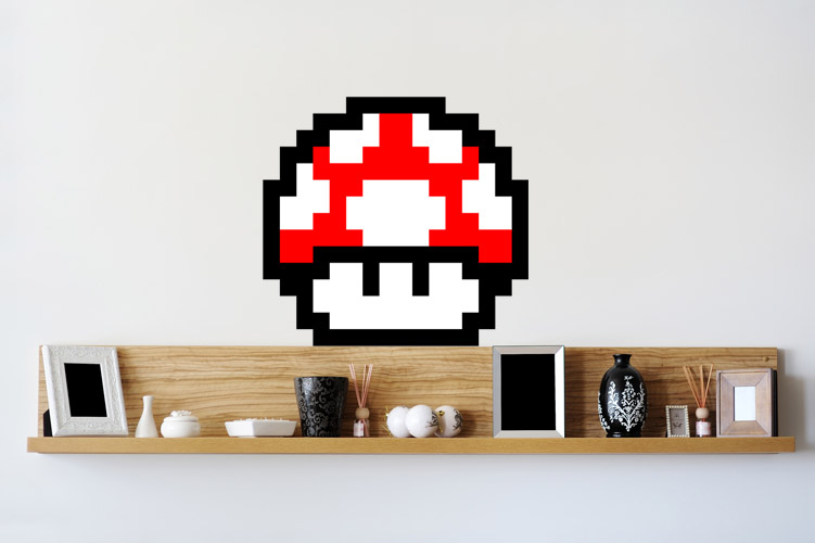 Fungo homestickers adesivi da parete - Stickers da parete personalizzati ...