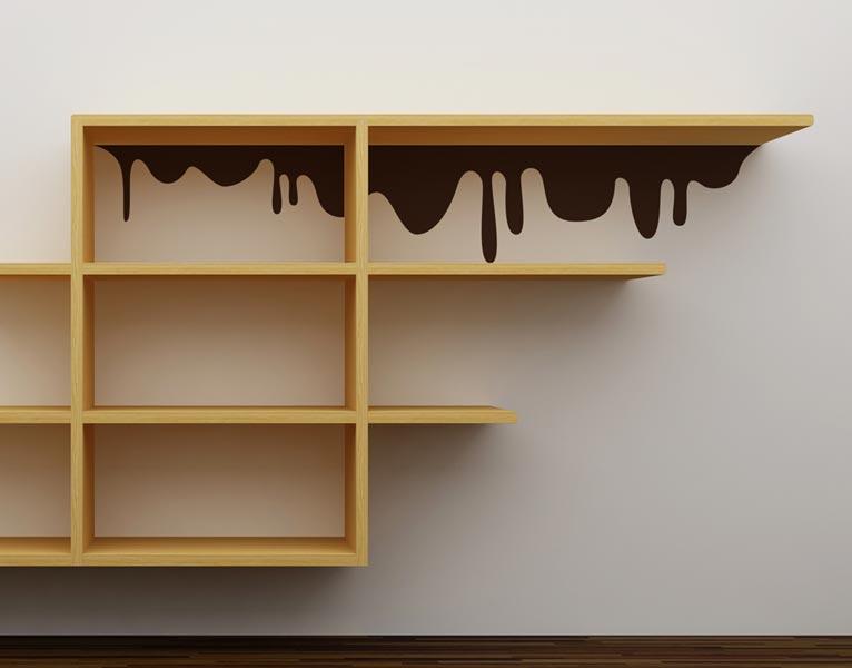 Cioccolato homestickers adesivi da parete for Disegni da parete