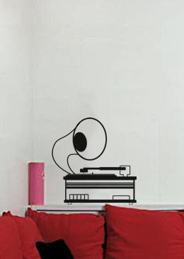 GRAMMOFONO_homestickers_adesivi_da_parete