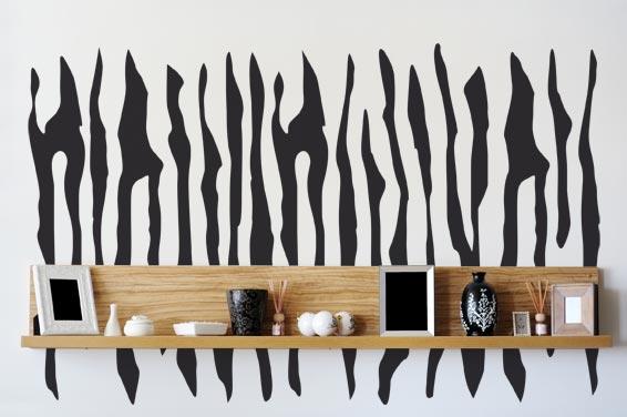 Zebra homestickers adesivi da parete - Stickers da parete personalizzati ...