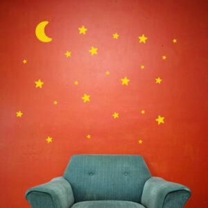 lune e stelle