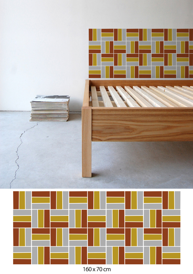 70ies homestickers adesivi da parete - Stickers testata letto ...