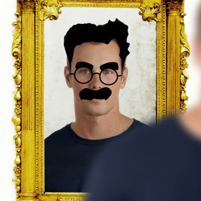 sticker-groucho