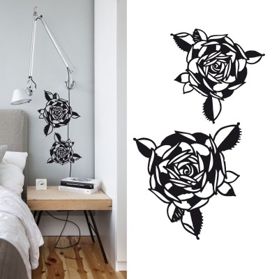 sticker tattoo-roses