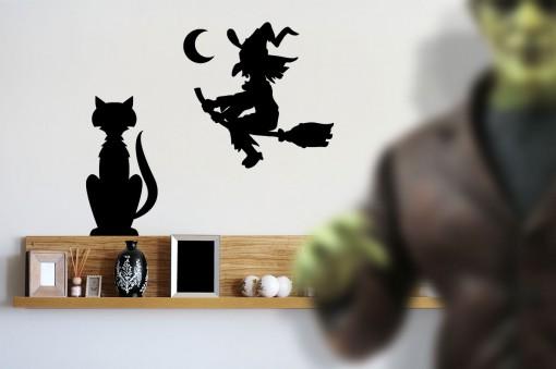 strega e gatto